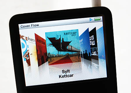 »Sylt« in Cover-Flow-Ansicht